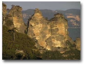 climate change over time | Three Sisters, Blue Mountains, Australia