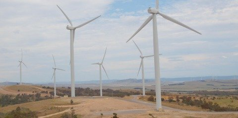 carbon emissions avoided by alternative energy wind farm